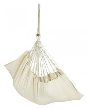 Hanging chair New Line ecru