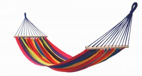 Stripes Hammock with spreader bar single
