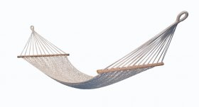 Net Hammock with spreader bar single