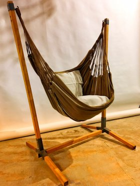 Noa stand with organic cotton longchair
