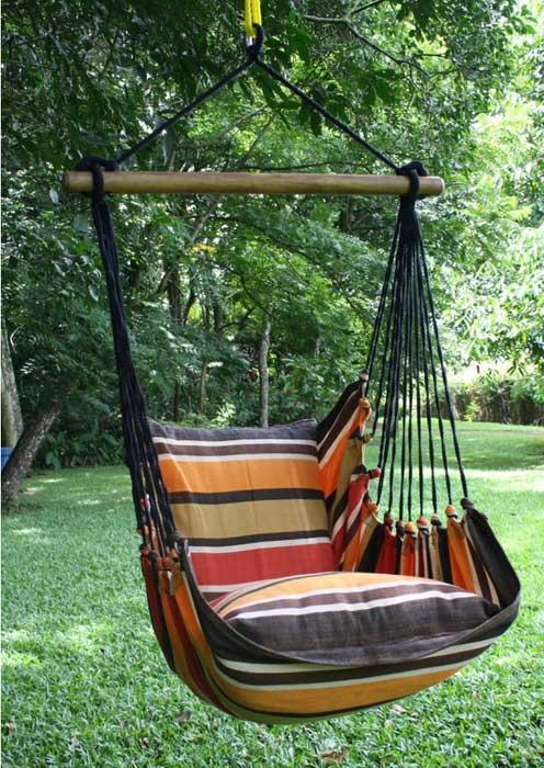 Silla colgante lazy nikolina sillas colgantes mundo de for Silla hamaca colgante