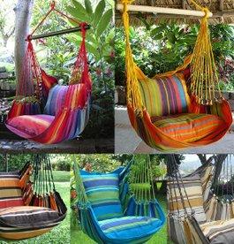 Hamacas sillas mundo de hamacas el aut ntico desde 2003 for Sillas colgantes para jardin