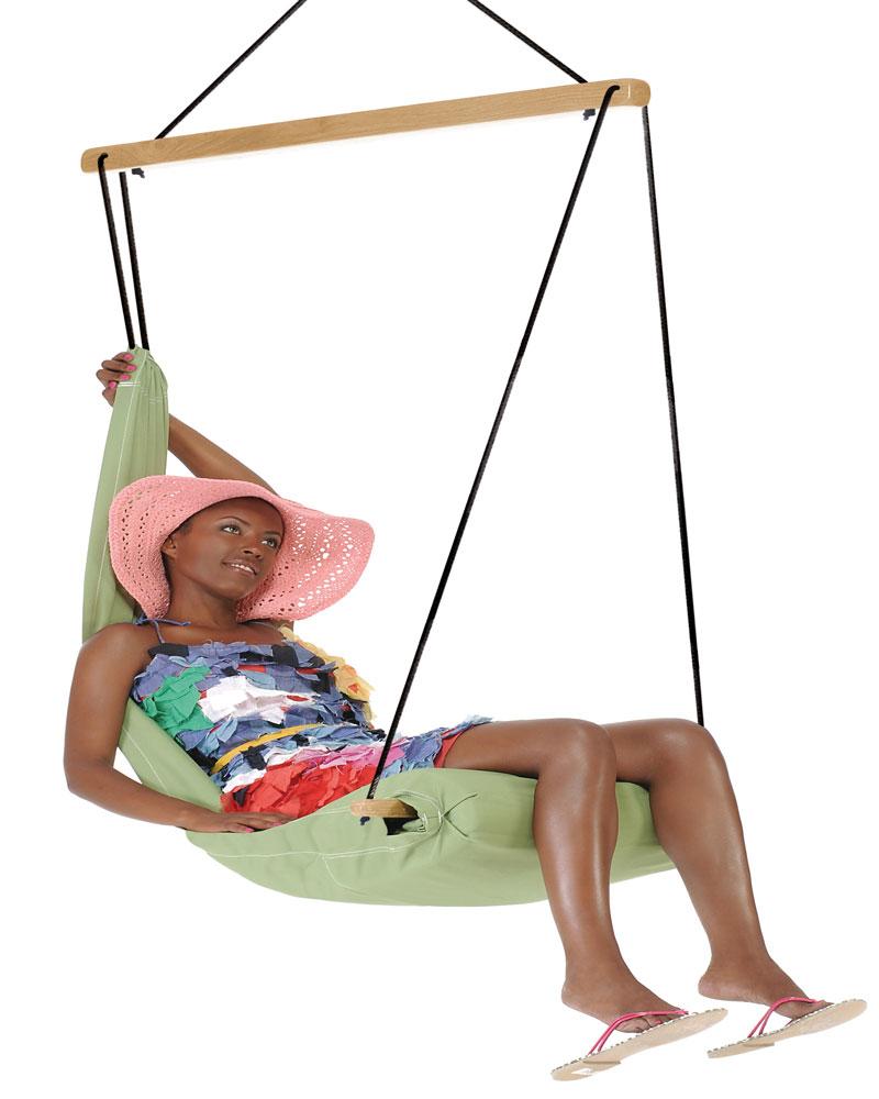 Sillas colgantes sillas colgantes manu hamaca el cacoon for Silla hamaca colgante